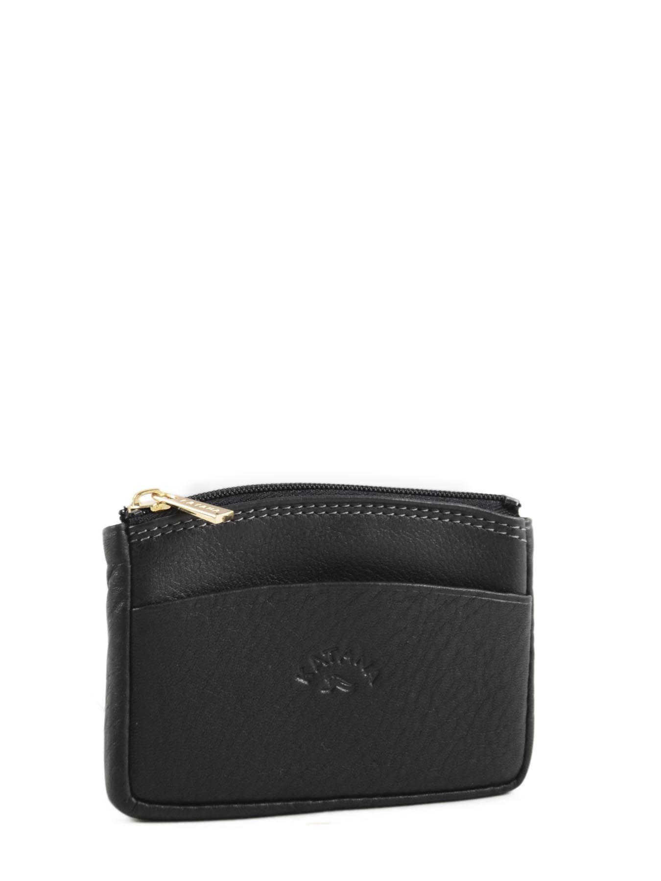détaillant en ligne d7c4e e3419 Porte-monnaie cuir KATANA