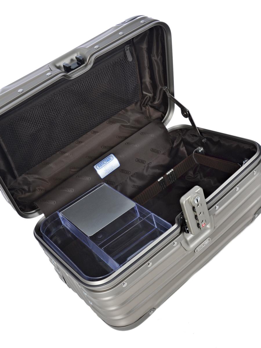 Beauty Case Rimowa Gris topas titanium 92338030-vue-porte