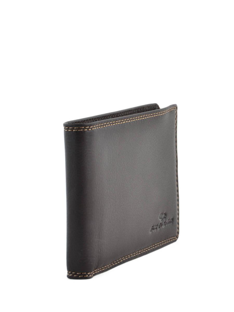 Gil Holsters Porte papiers en cuir - 3 cartes Noir kNV4m55ka