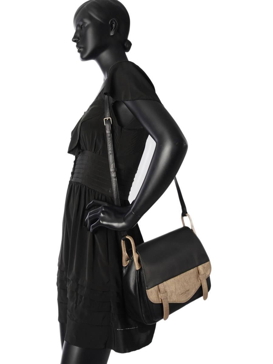 Sac Lancaster Clara Noir : Sac lancaster soft vintage clara sur