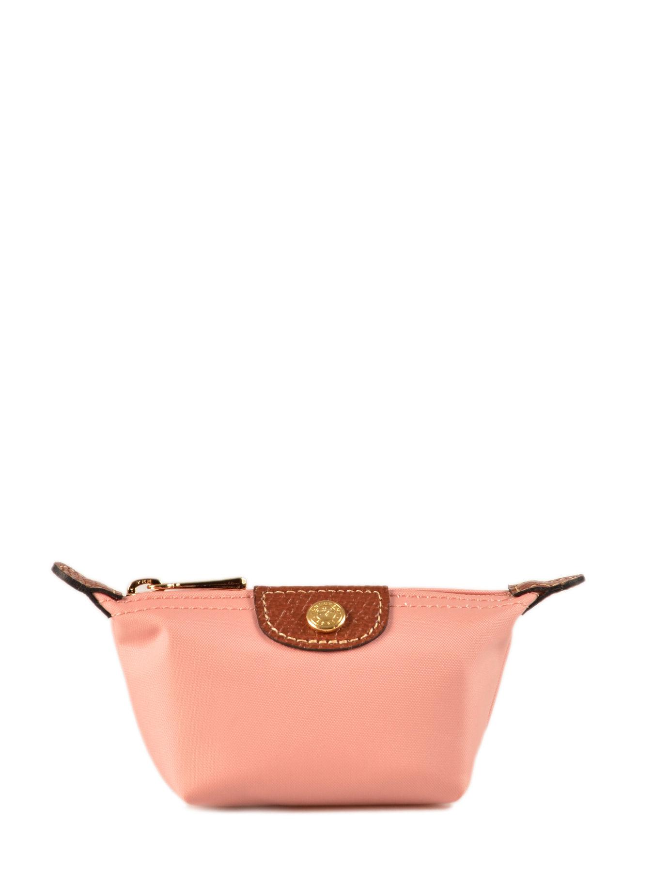 Longchamp Porte monnaie Rose