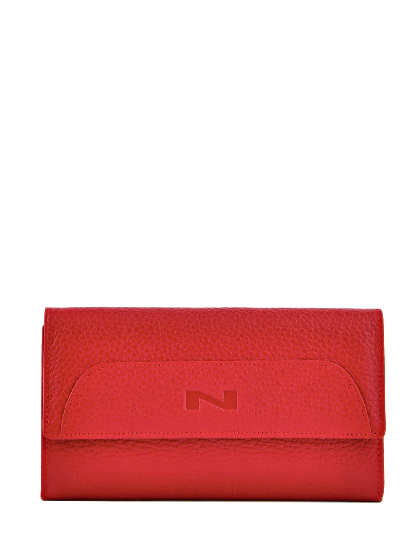 6ddb28e26c4 ... Portefeuille Cuir Nathan baume Rouge original homme 960080N ...