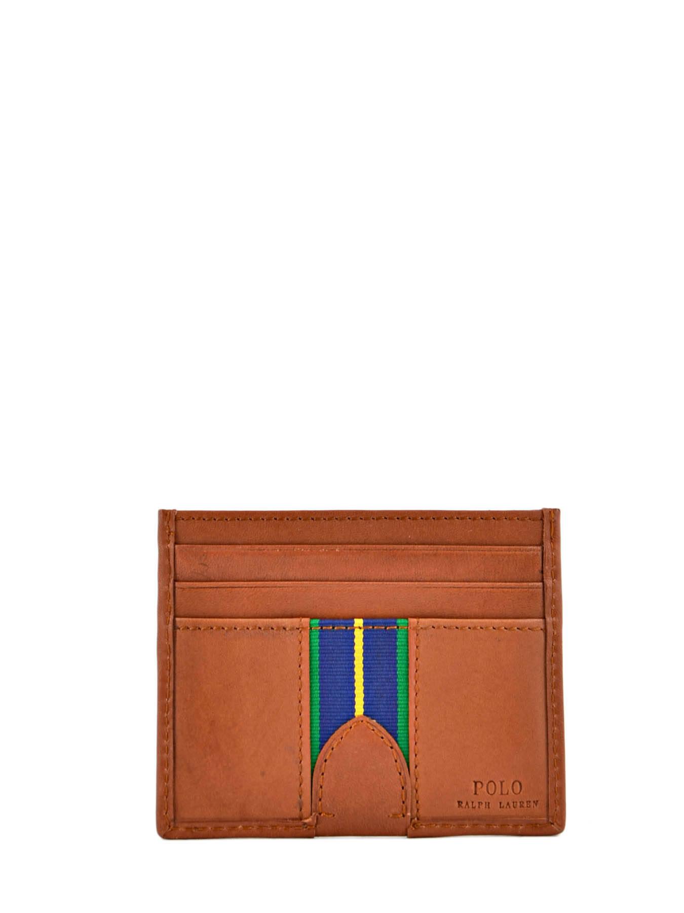 Porte-cartes Cuir Polo ralph lauren Marron wallet A79XZ6O2