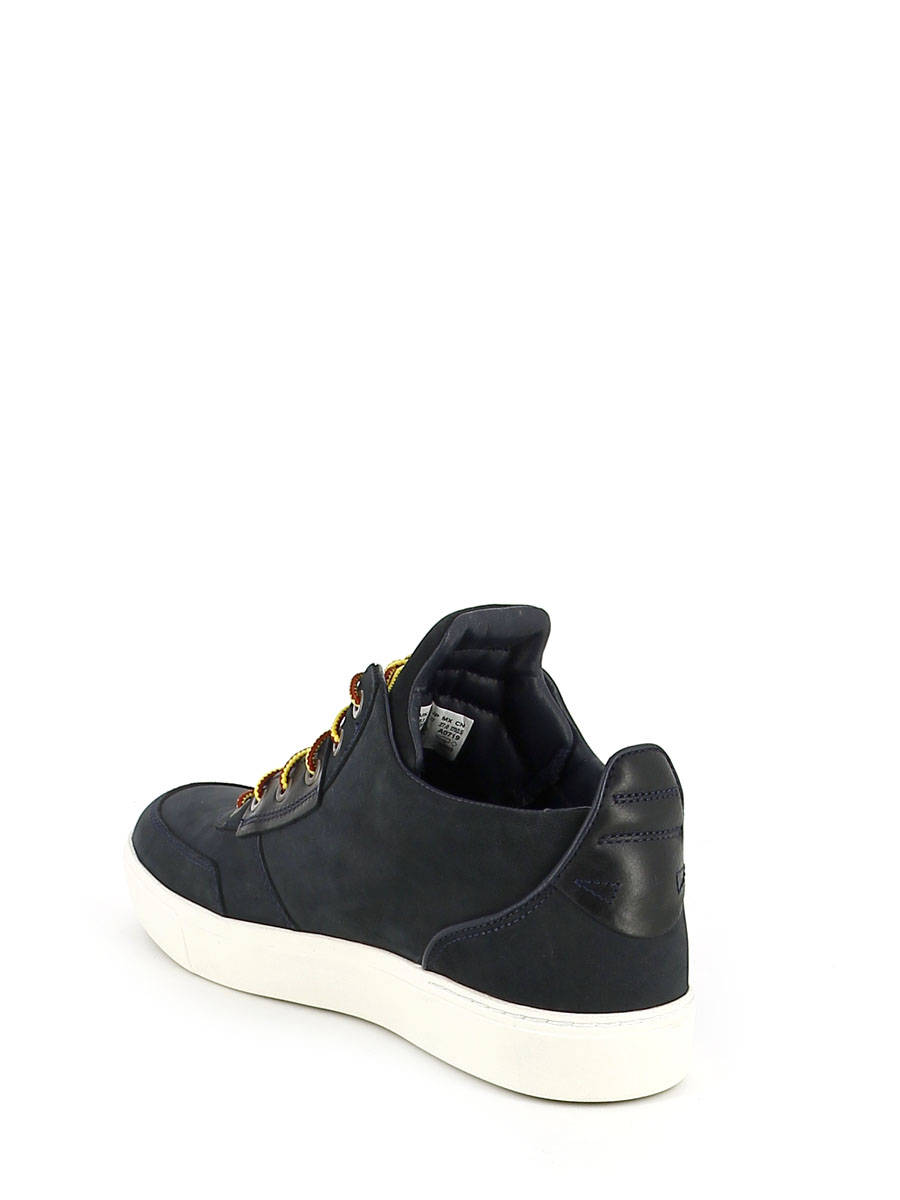 327da7f3a50 ... Chaussures à Lacets Timberland Bleu chaussures a lacets CA1G8O vue  secondaire ...