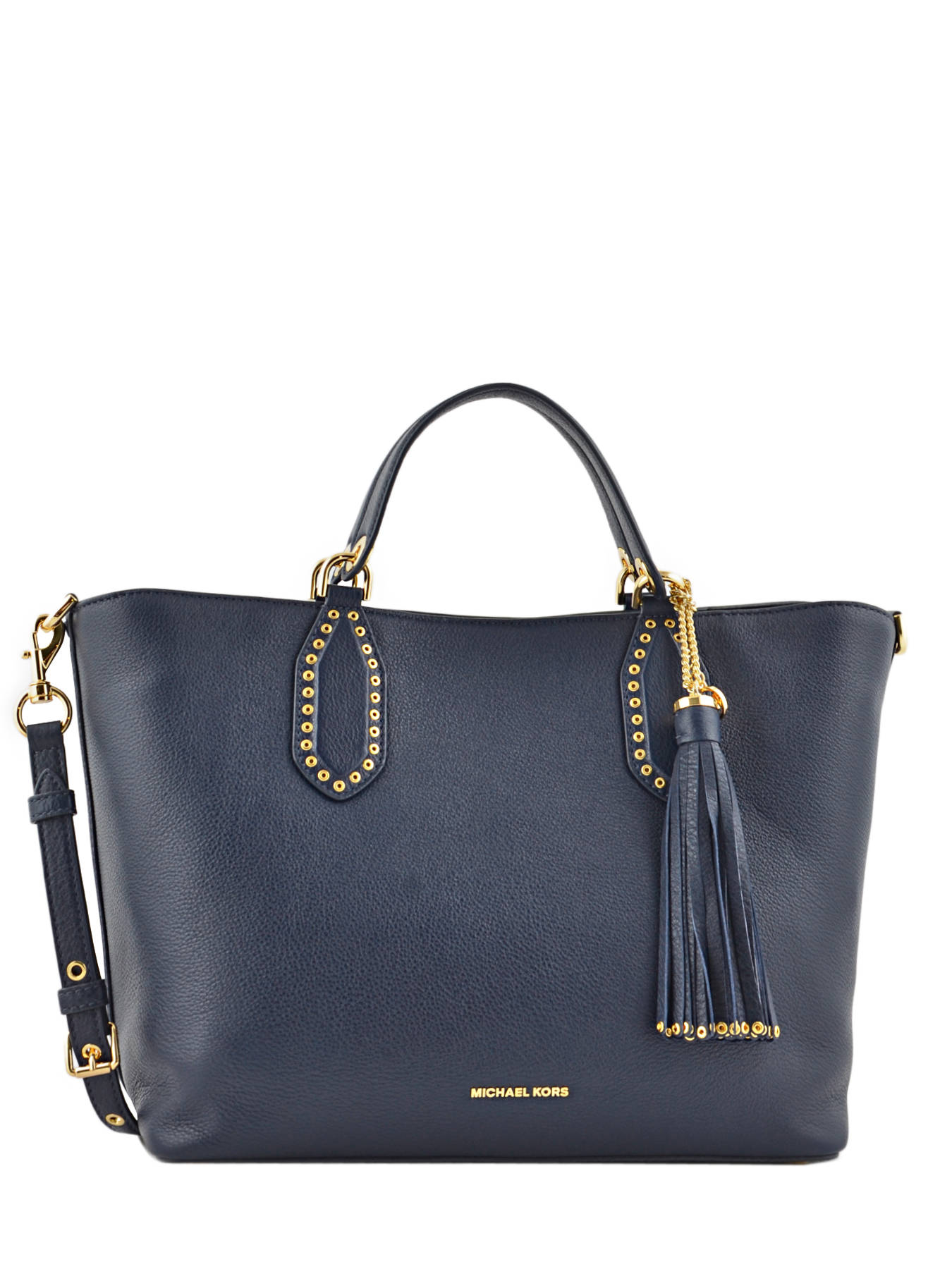 Cabas Brooklyn Cuir Michael kors Bleu brooklyn S7GBNS3L