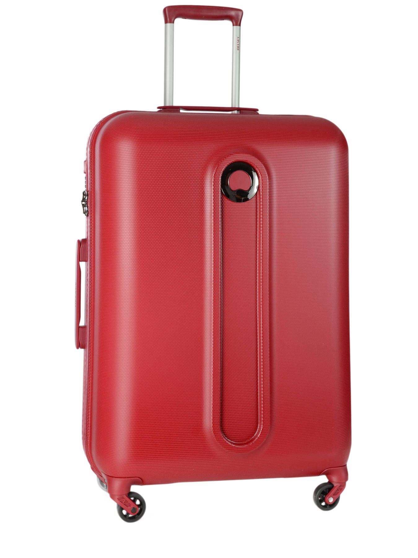 Valise rigide Delsey Helium Classic 2 - 78 cm Rouge J9KvN