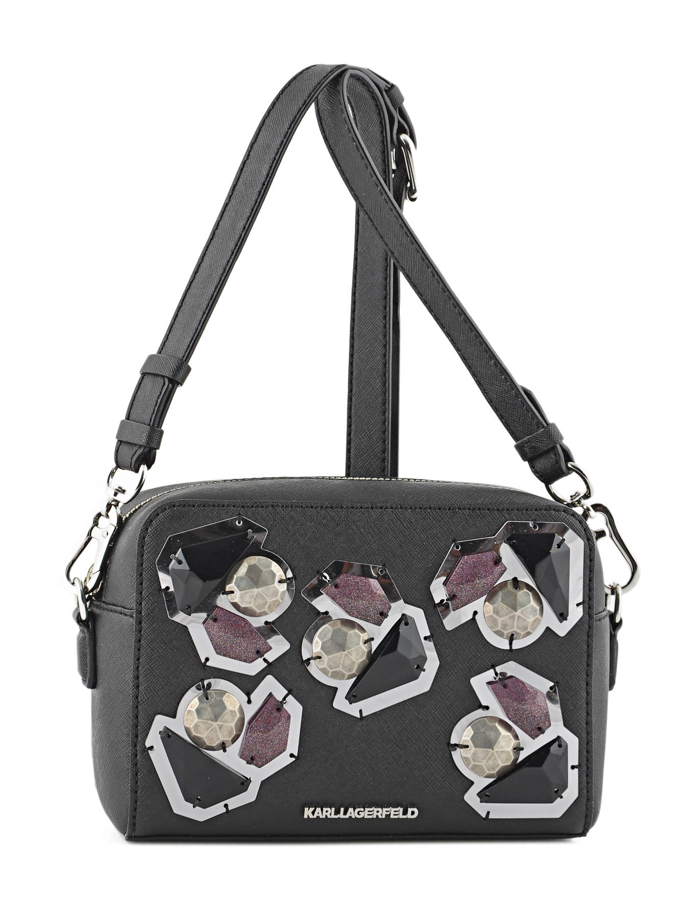 Sac Bandoulière K/klassik Diamonds Karl lagerfeld Noir k diamonds 76KW3079