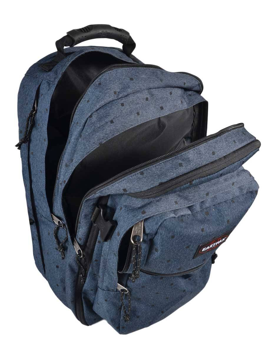 8739fda41aa Rugzak 2 Compartimenten + Pc 15'' Eastpak Blauw authentic K955 ander ...