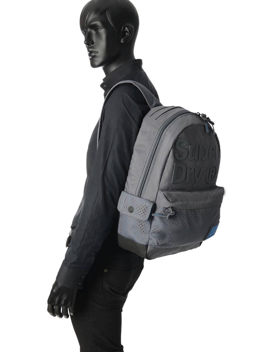 5b71c043da6 ... Rugzak Superdry Grijs backpack men M91001DQ ander zicht 2 ...