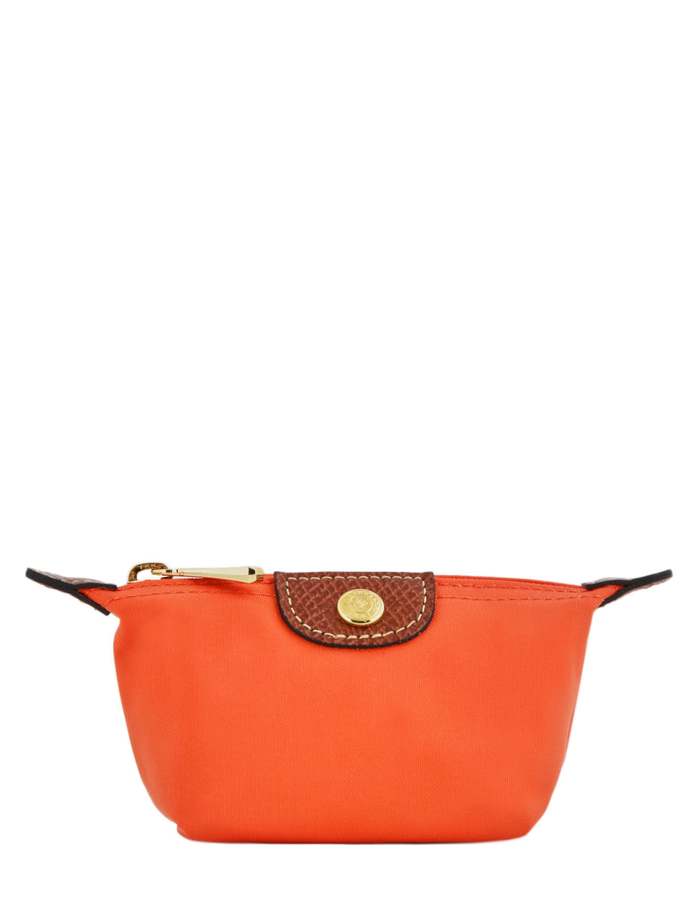 Longchamp Porte monnaie Orange