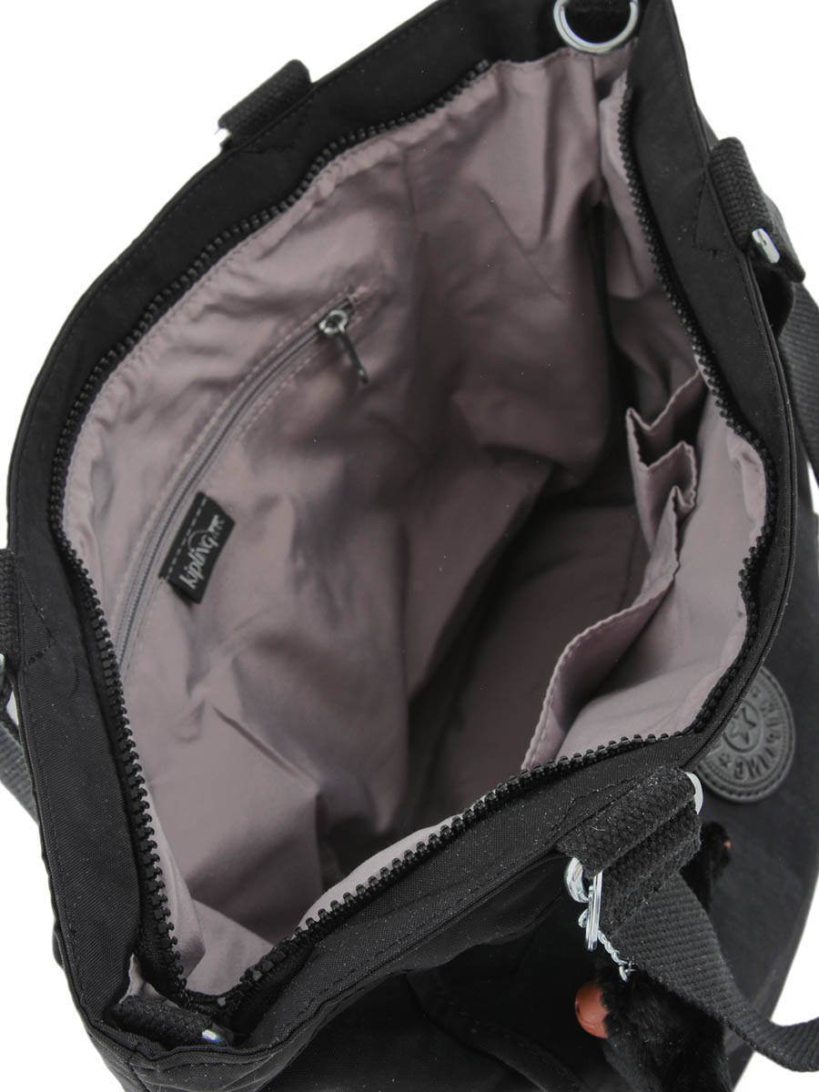 basic secondaire vue Sac 16640 Kipling 4 Noir Shopping Basic w0OAaqUI