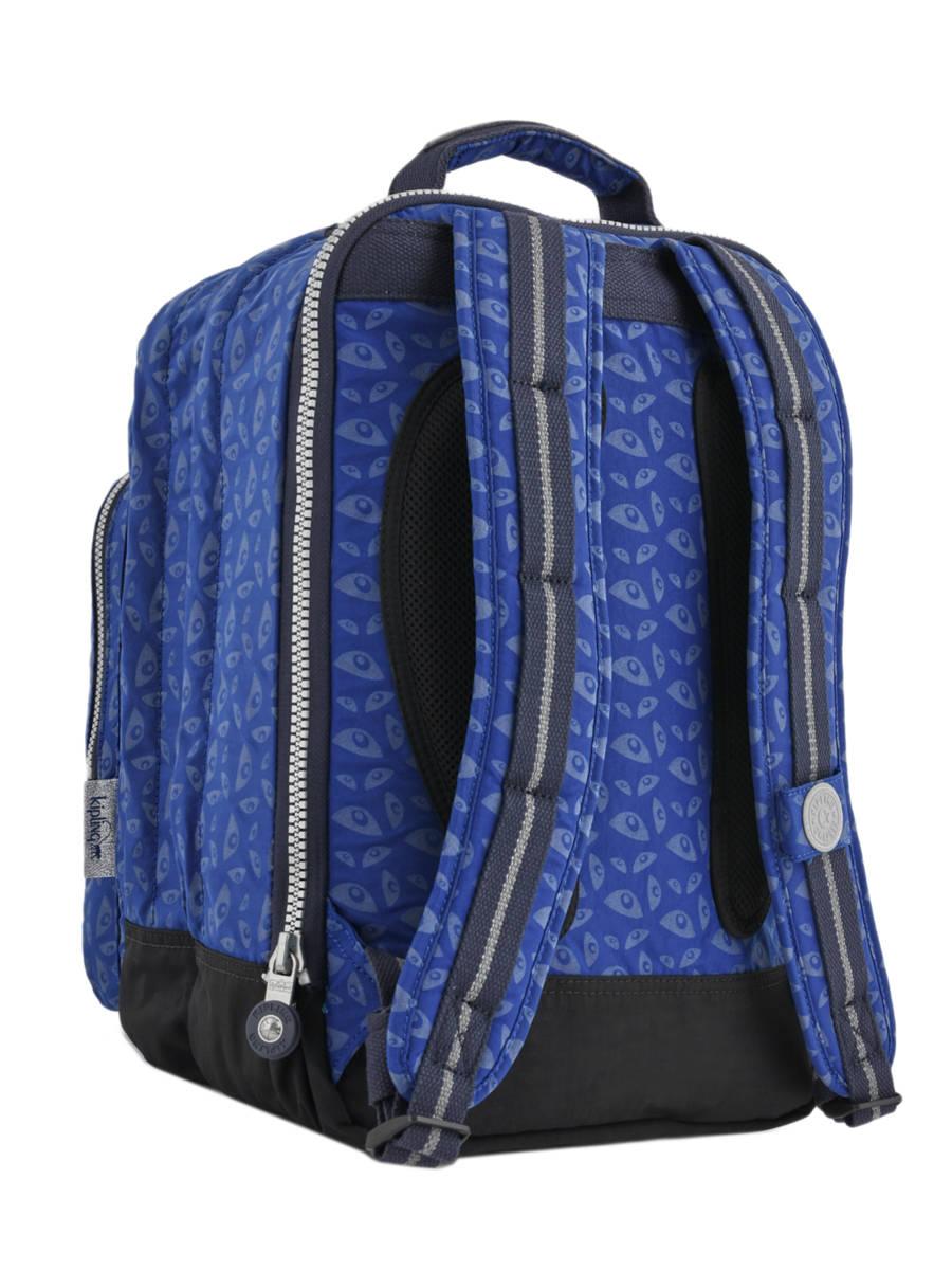29e5104e8dc ... Rugzak 2 Compartimenten + Pc 15'' Kipling Blauw back to school capsule  408 ander ...