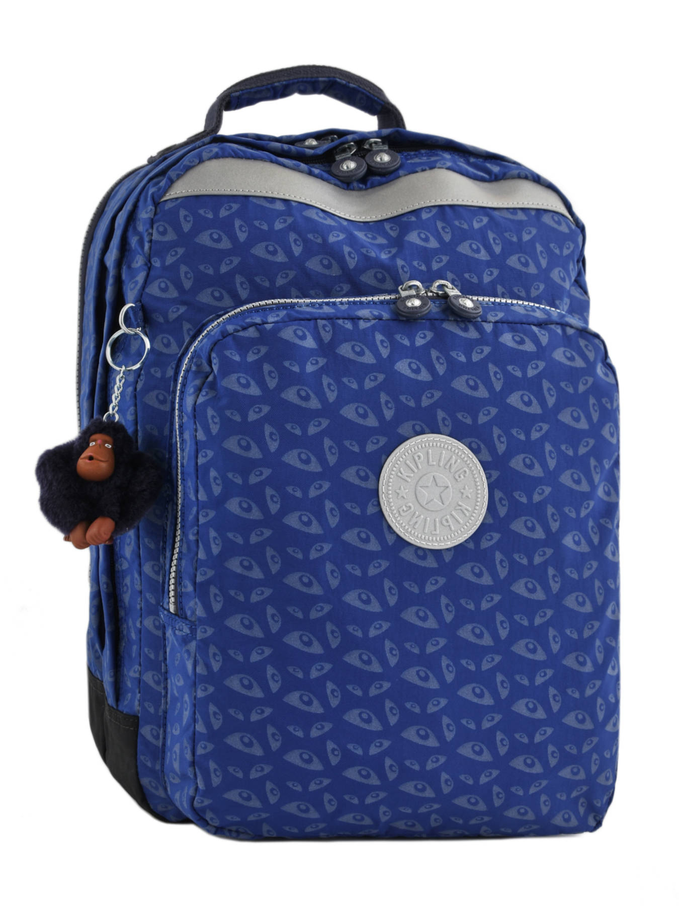1c91e3e2508 Rugzak 2 Compartimenten + Pc 15'' Kipling Blauw back to school capsule 408  ...