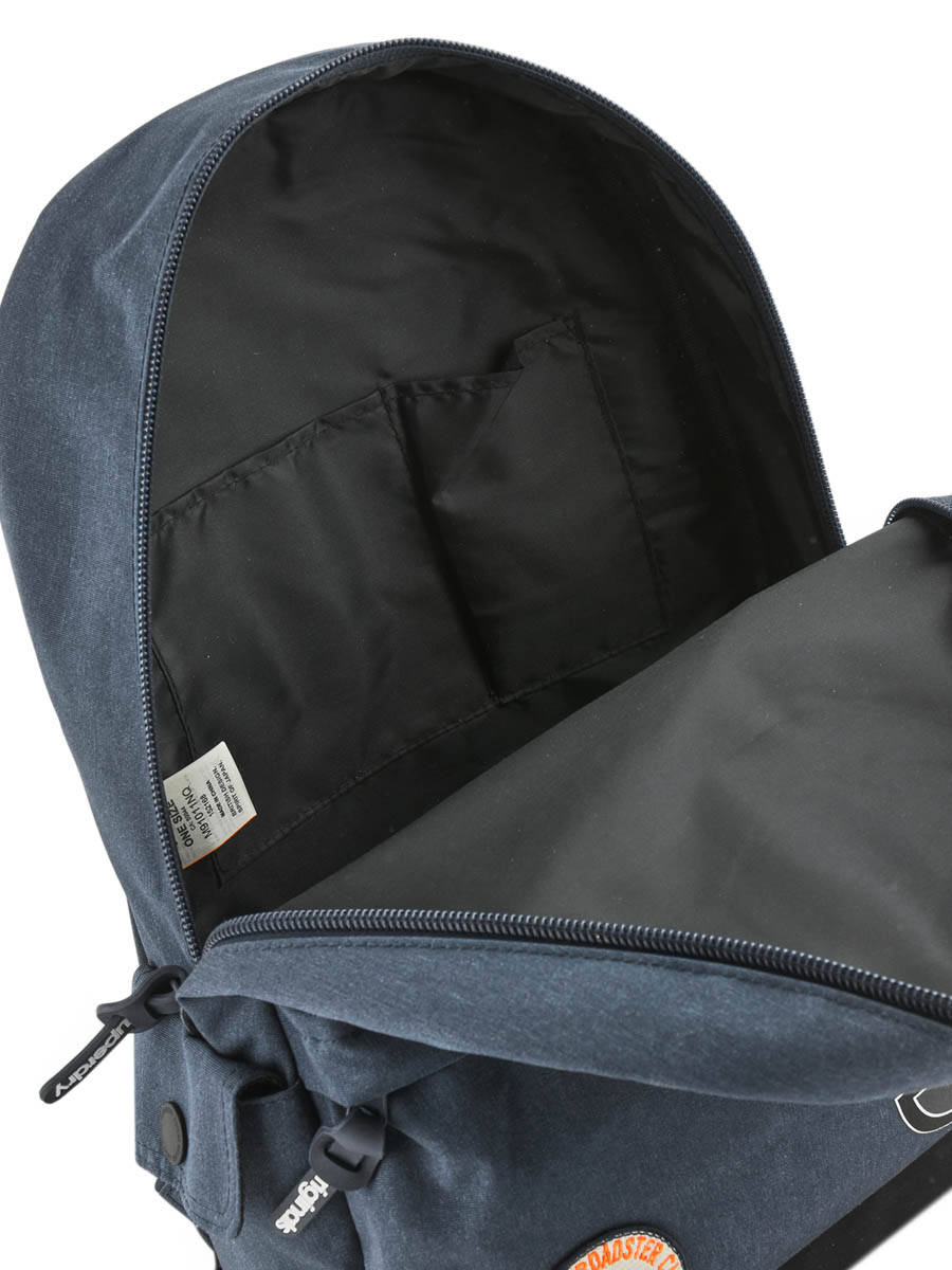 2d97160b3ce Rugzak 1 Compartiment Superdry Blauw backpack men M91011NQ ander zicht 4