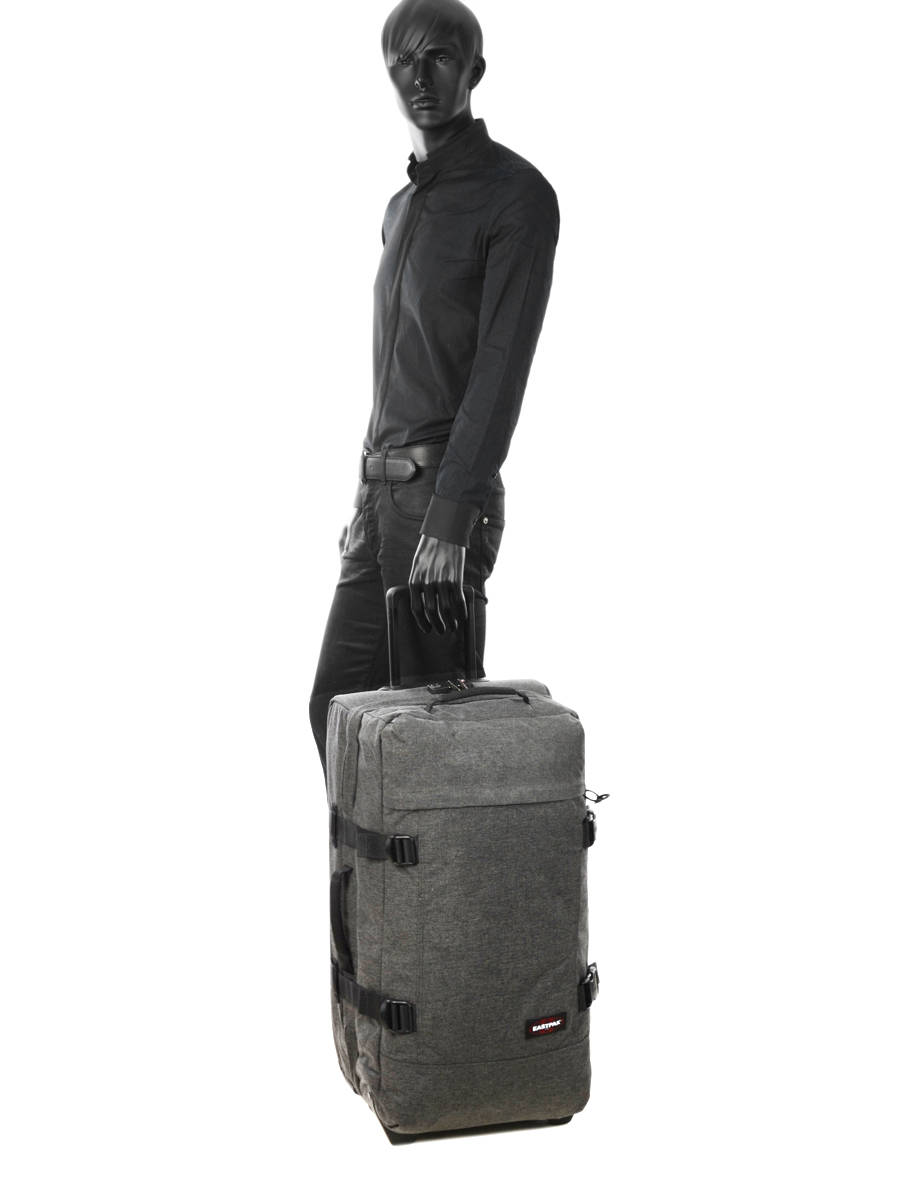 808d7041f18 ... Soepele Reiskoffer Authentic Luggage Eastpak Grijs authentic luggage  K62L ander zicht 2 ...