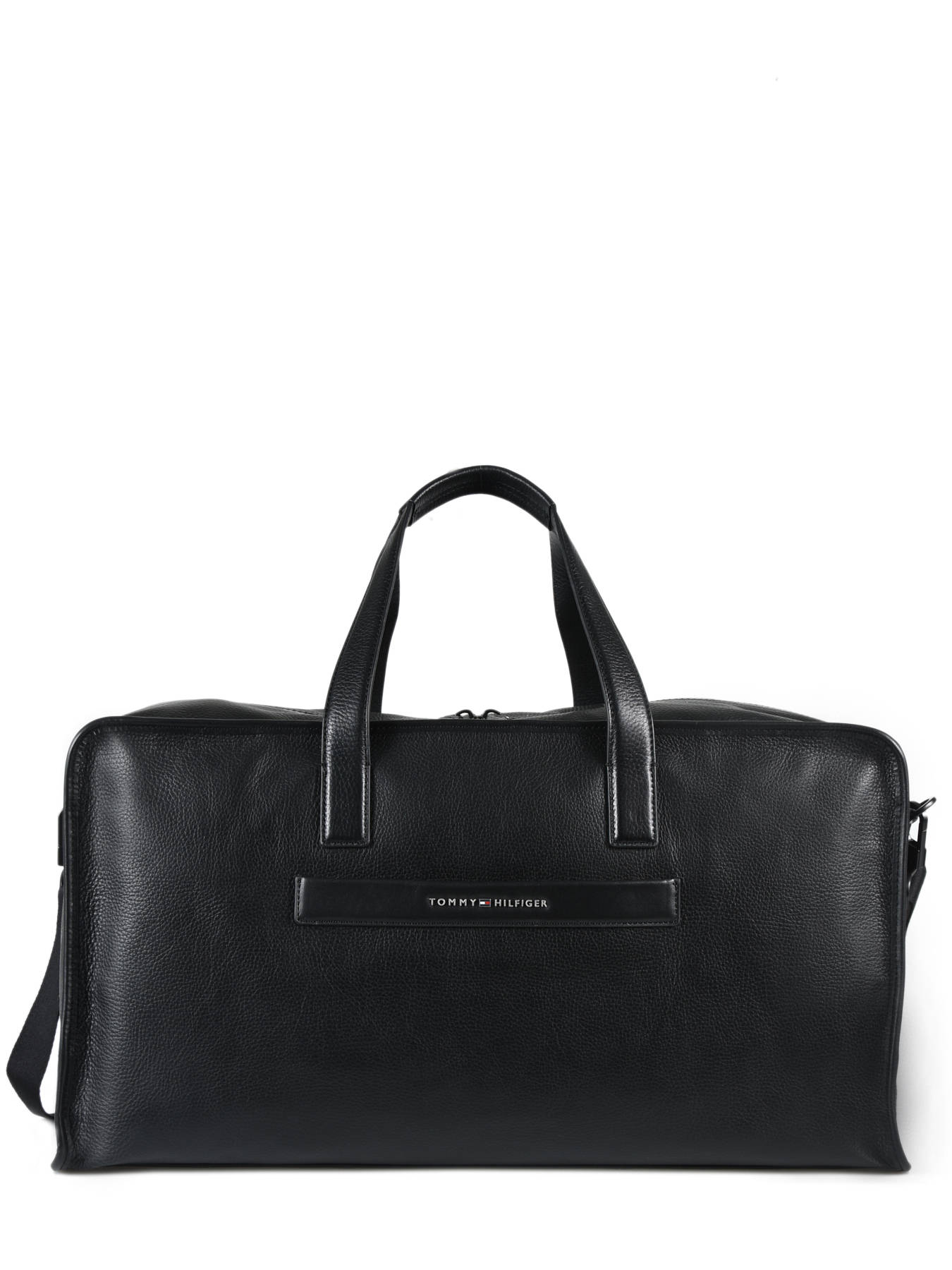 acfd17809e66 ... Sac De Voyage Elevated Cuir Elevated Tommy hilfiger Noir elevated  AM04314 ...