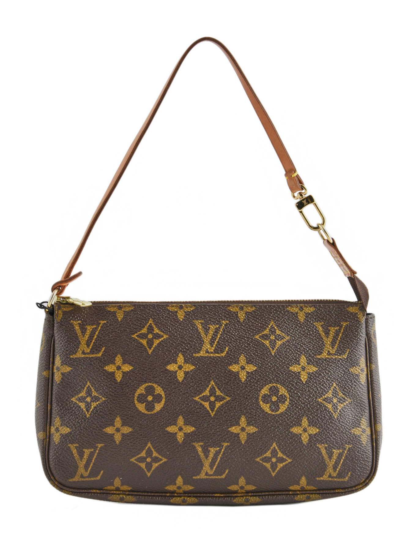 ... Mini-sac D occasion Louis Vuitton Pouch Monogrammé Brand connection Marron  louis vuitton ... 9a05887bb65
