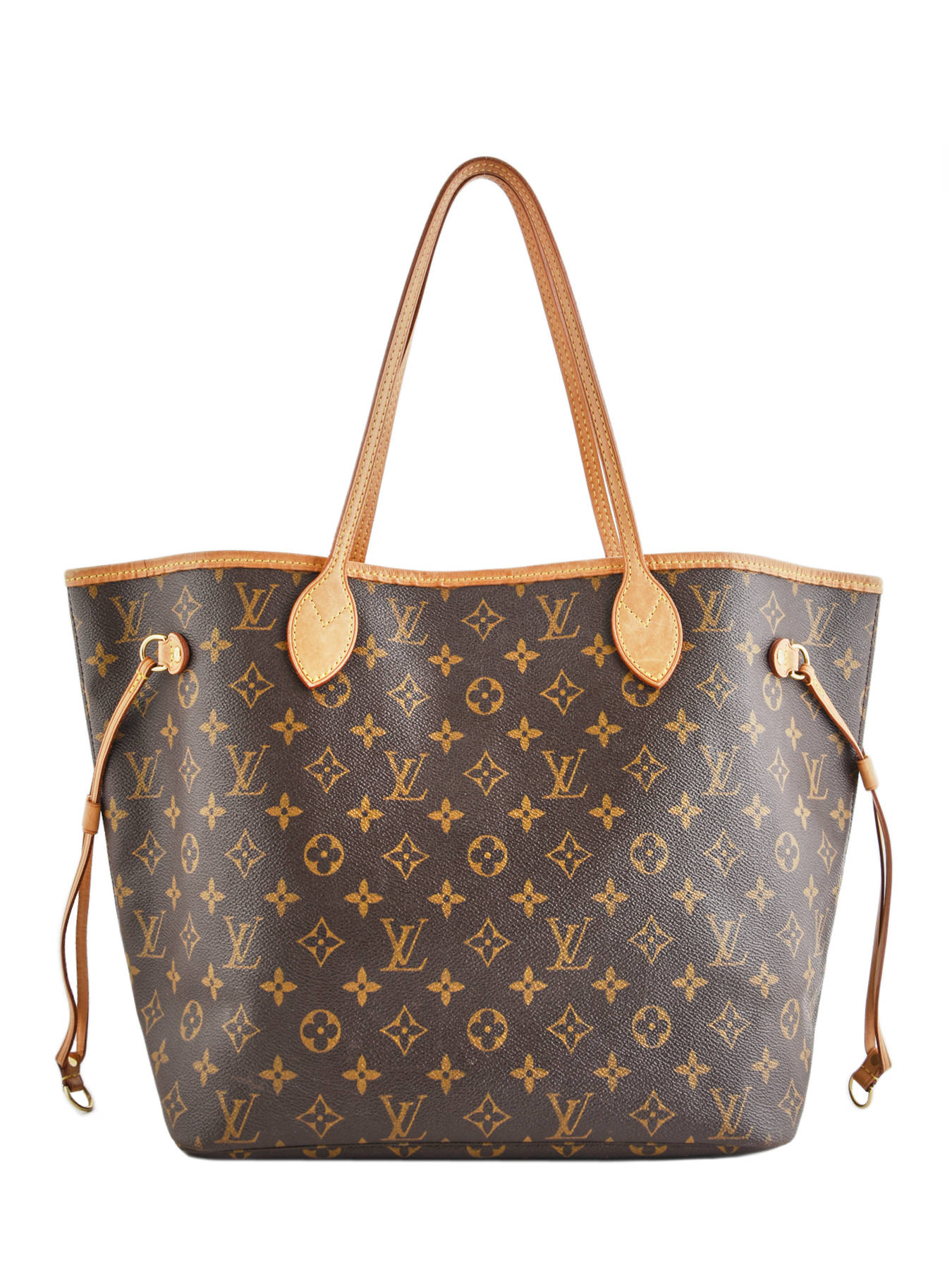78650466e07 Preloved Louis Vuitton Schoudertas Neverfull Monogram Brand connection  Bruin louis vuitton 400A ...