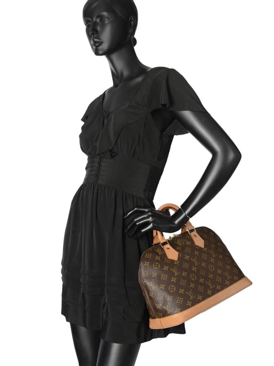 ... Sac à Main D occasion Louis Vuitton Alma Monogrammé Brand connection  Marron louis vuitton ... b641cd623af