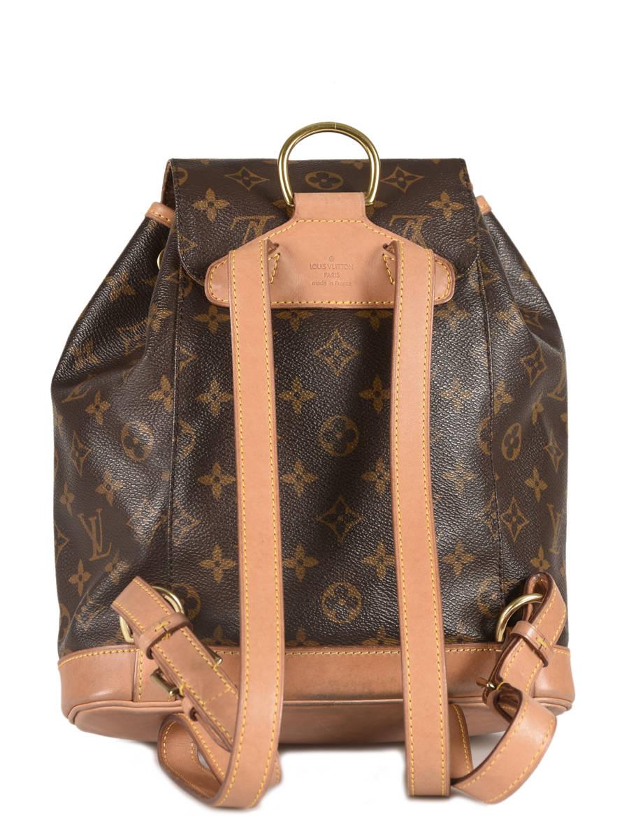 Sac à Dos D occasion Louis Vuitton Montsouris Monogrammé Brand connection  ... 731c64d4afa