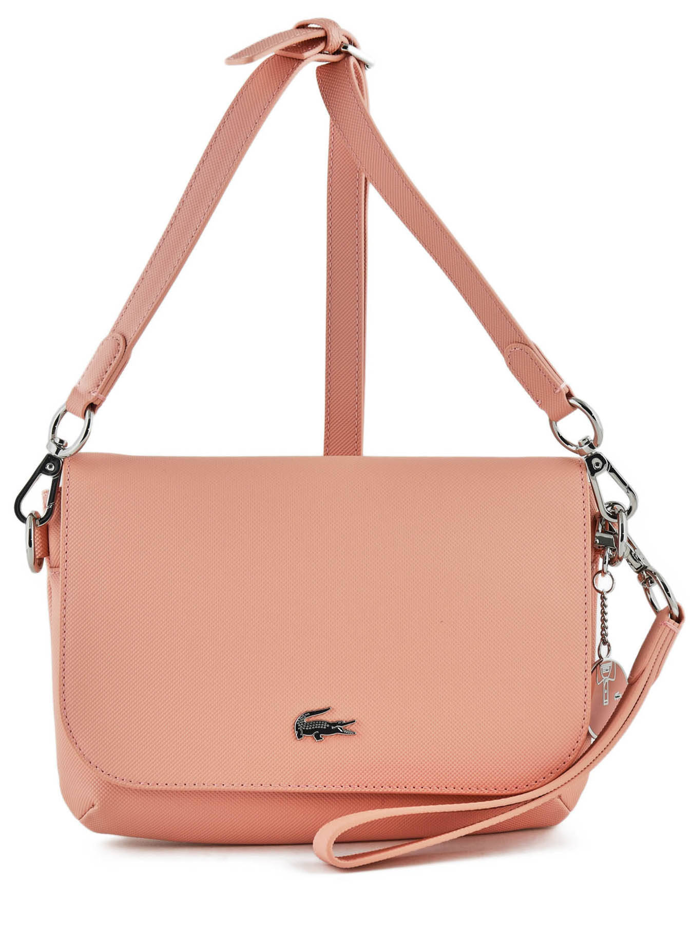 6bce9ee44d ... Sac Bandoulière Daily Classic Lacoste Rose daily classic NF2894DC ...