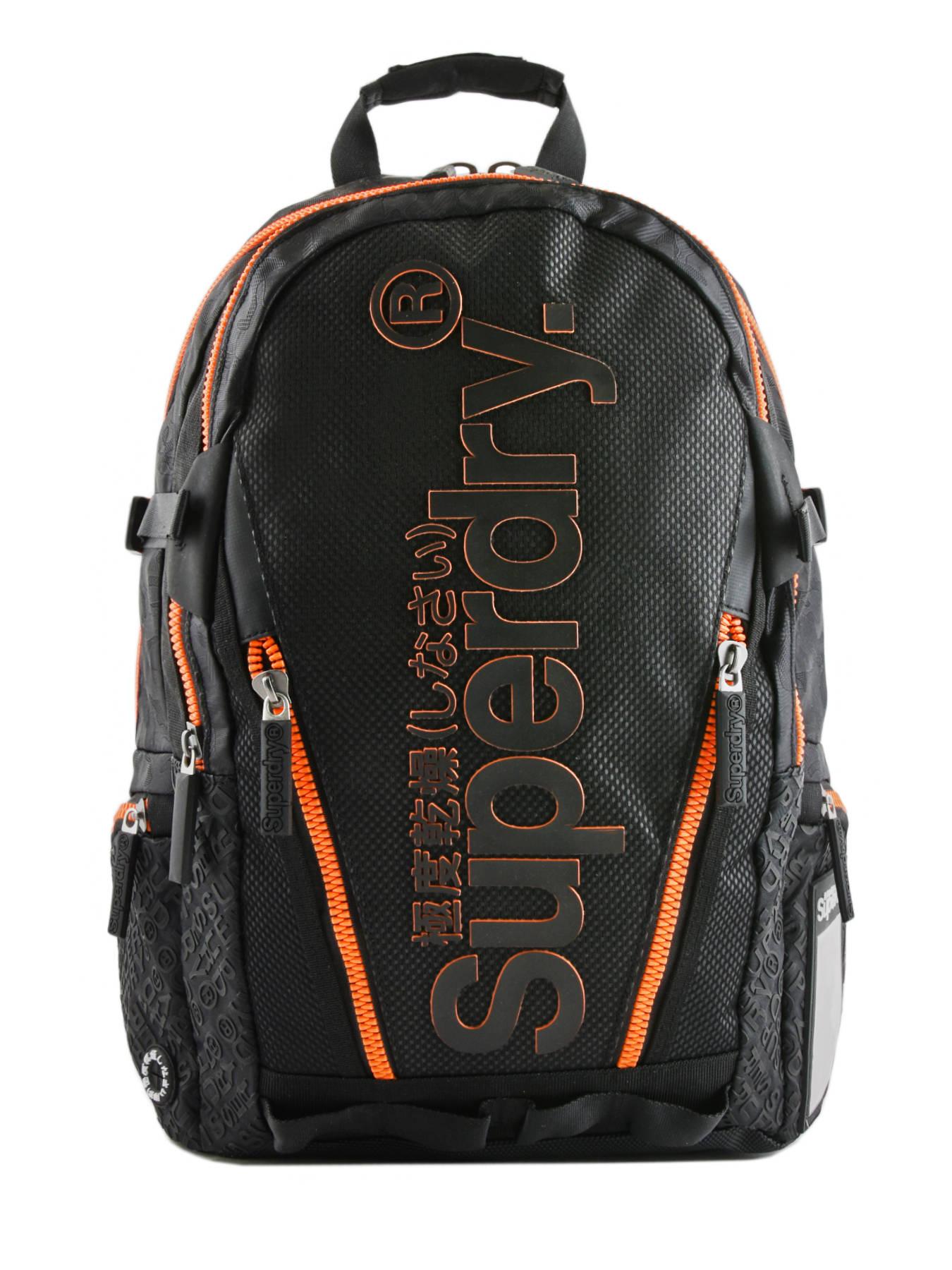 20e9f3653e7 ... Rugzak 2 Compartimenten Superdry Zwart backpack men M91011JT ...
