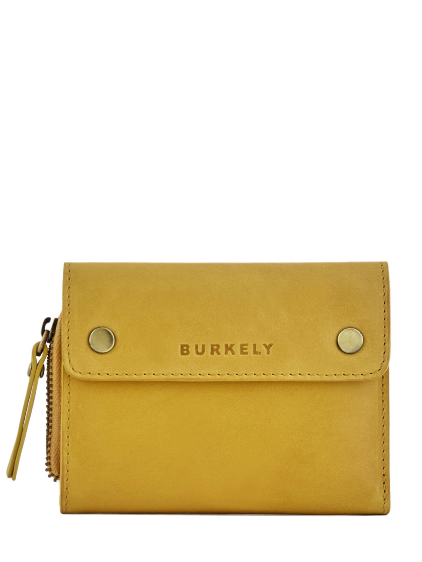 1d3e866de83 ... Portefeuille Leder Burkely Geel desert daisy 840783 ...