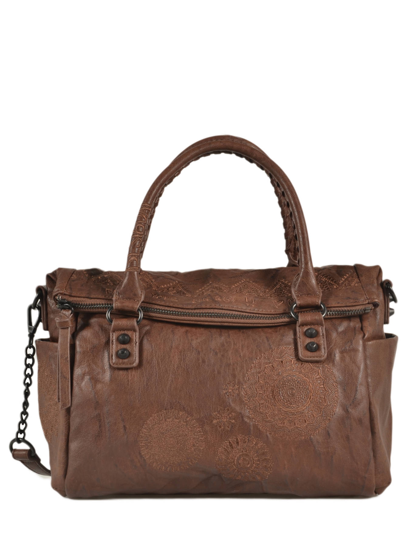économiser jusqu'à 80% attrayant et durable haute couture Sac porté main Albita DESIGUAL
