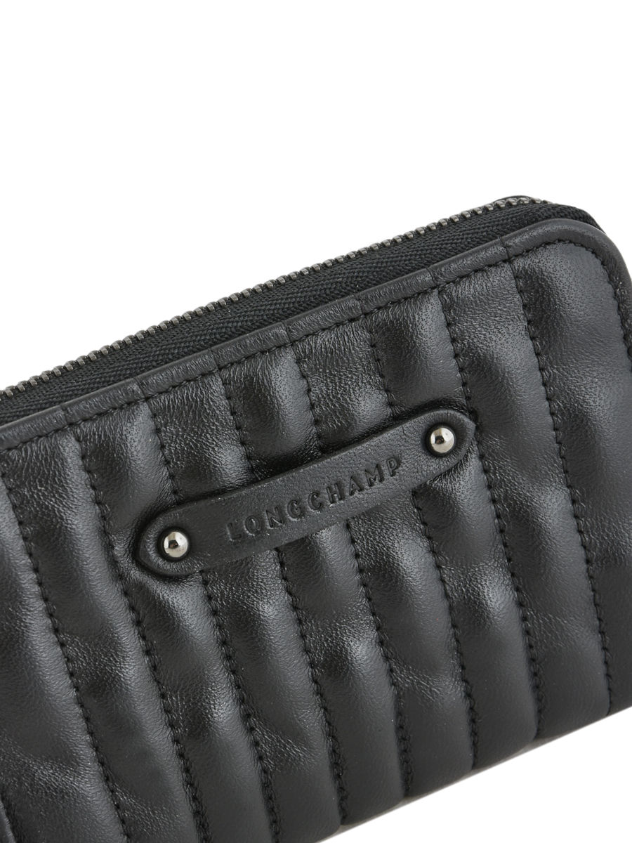 Du porte-monnaie Portefeuille Porte-Monnaie Petit Cuir Noir 210