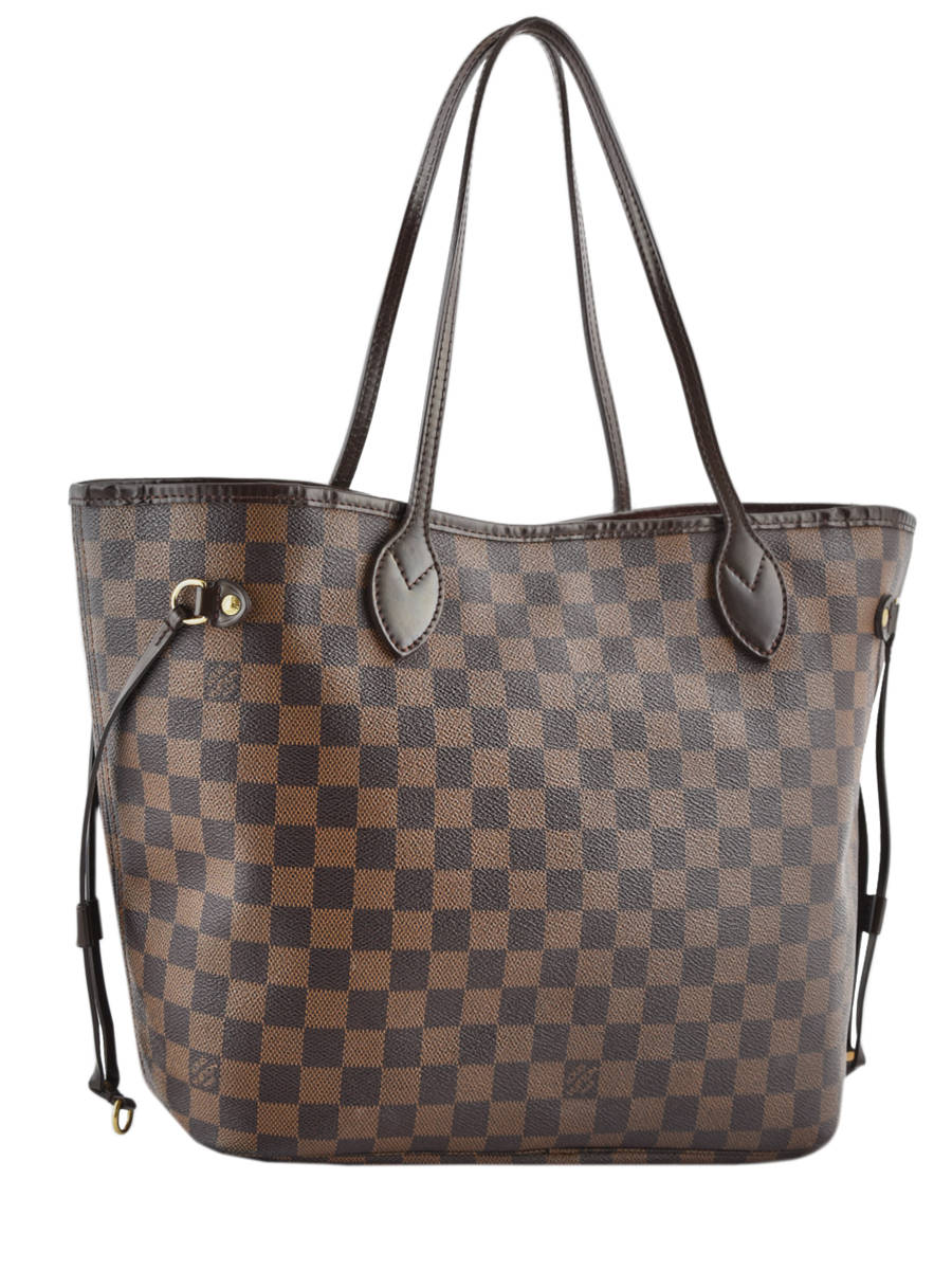 Sac d'occasion Neverfull Louis Vuitton Damier Ebene BRAND CONNECTION