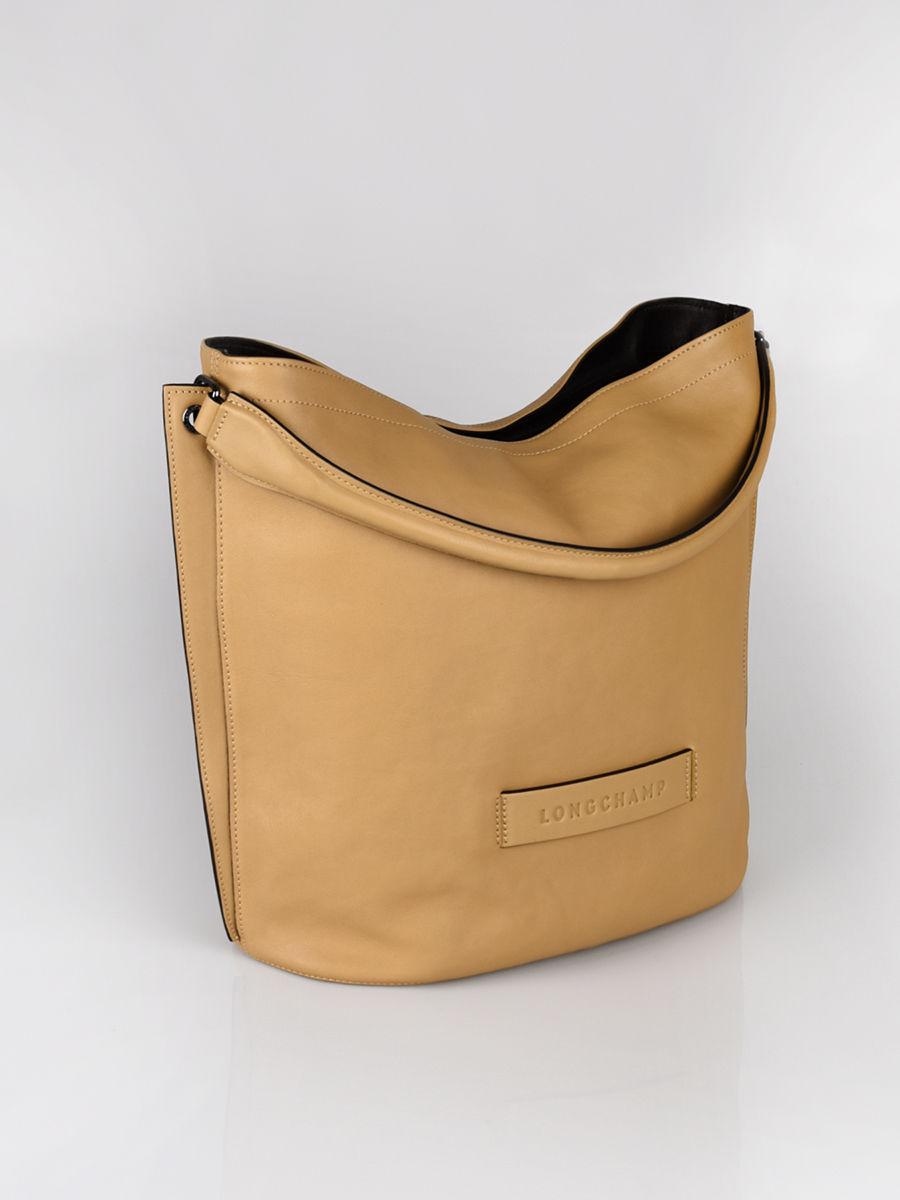 Sac porté épaule Longchamp 3d zippé LONGCHAMP