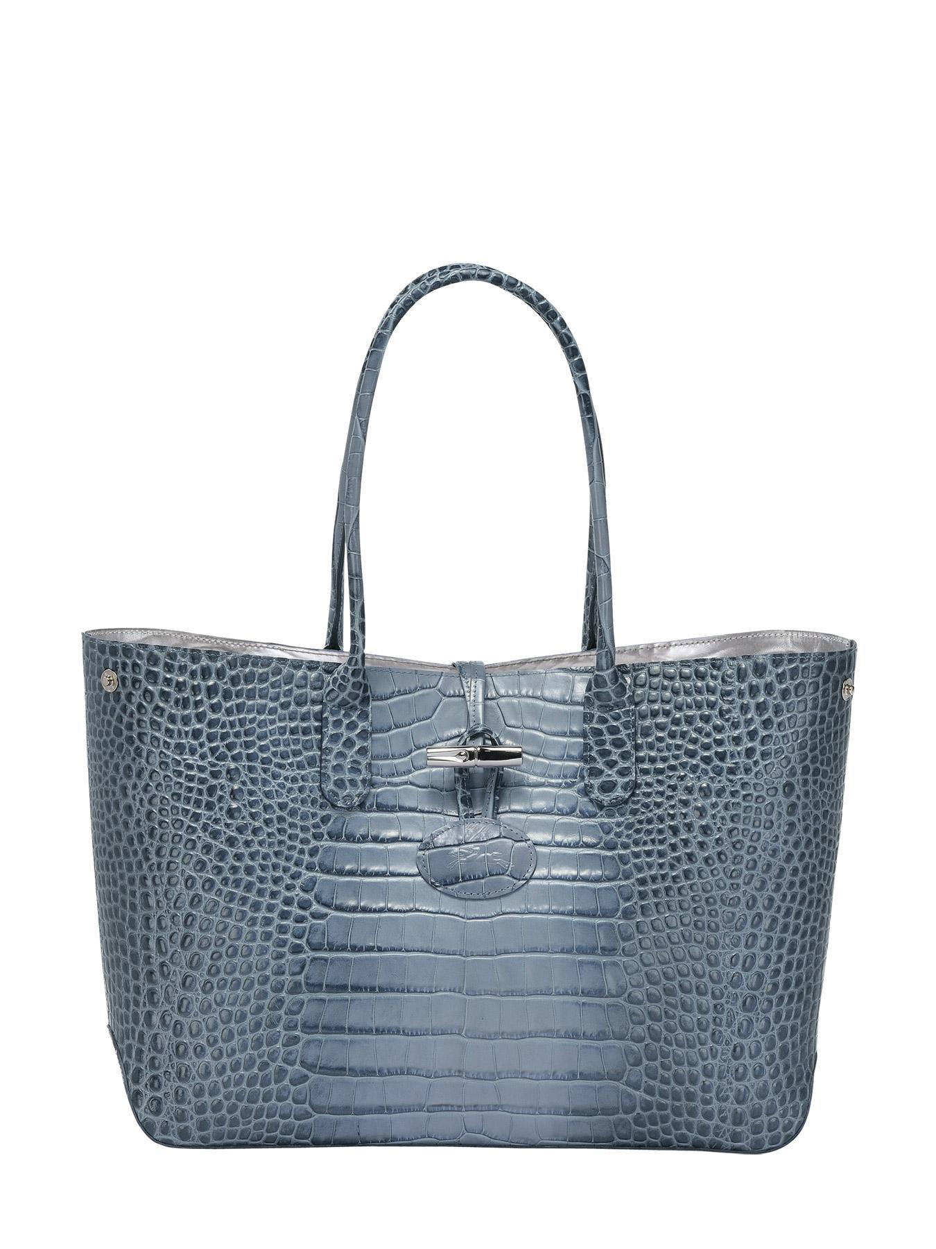Edisac Longchamp a be Roseau 2686924 Borsa Su Croco tracolla AE4qnnw0