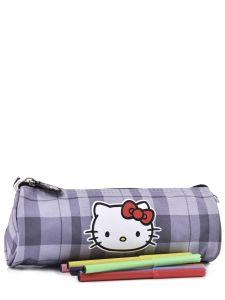 Trousse Hello kitty Noir teddy kitty HOE20009-vue-porte