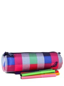 Trousse Roxy Multicolore back to school WPWES071-vue-porte