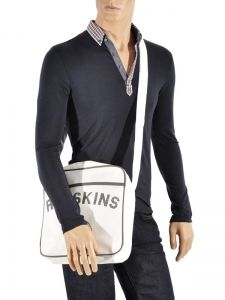Sac Porté Travers A4 Redskins Blanc airline RD15002-vue-porte