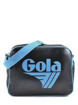 Sac Bandoulière A4 Gola Bleu classic CUB901