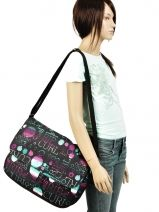 Cross Body Tas Rip curl Zwart dot
