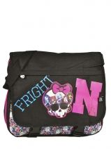 Sac Porté Travers Monster high Noir be a monster MOH37111