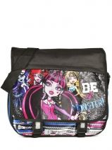Sac Porté Travers Monster high Noir be a monster MOH37112