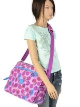 Sac Porté Travers A4 Kipling Rose back to school 15379-vue-porte