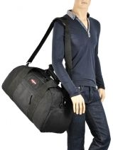 Sac De Voyage Authentic Luggage Eastpak Noir authentic luggage Station: K070-vue-porte