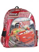 Sac à Dos 1 Compartiment Cars Rouge formula racers 22210