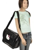 Sac Bandoulière Hello kitty Noir classic dot