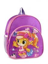 Sac à Dos 1 Compartiment Miniprix Violet girl 7701-FIL