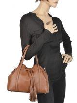 Bucket Bag Tradition Leder Etrier Bruin tradition EHER001-vue-porte