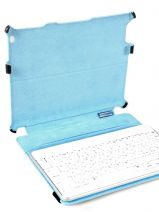 Housse Tablette Piquadro Noir blue square AC2862B2-vue-porte