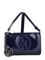 Sac Bandoulière Vernice Lucida Verni Armani jeans Bleu vernice lucida 5V82-RJ