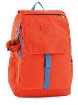 Sac à Dos 2 Compartiments Kipling Orange back to school 15377