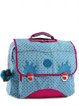 Cartable 2 Compartiments Kipling Bleu back to school 21092