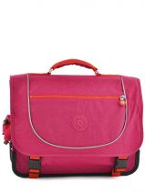 Cartable 2 Compartiments Kipling Rose back to school 15078